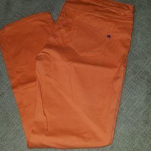 Vigoss orange skinny jean pants